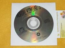 MORTAL KOMBAT 3 PC NEW ORIGINAL FOR WINDOWS 98 / XP / VISTA / SEVEN TOP  MK3