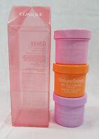 Clinique Happy Treats 3 Piece Body Gelato Cream Set Sugared Petals Berry Blush