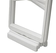 "Confer Plastics Swimming Pool 3"" Riser For Above Ground In-Pool Ladder-White"
