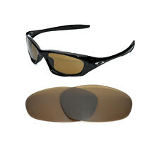 NEW POLARIZED BRONZE REPLACEMENT LENS FOR OAKLEY TWENTY SUNGLASSES