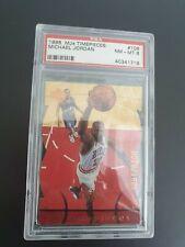 Michael Jordan 1998 UD MJx Timepieces Di-Cut ed. 1091/2300 PSA 8 Basketball NBA