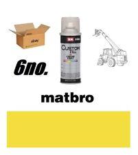 Matbro Telehandler Yellow Paint Box Of 6no. 400ml Aerosols
