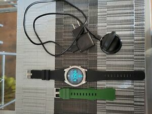 Samsung Gear S3 SM-R765V Frontier Verizon 46mm Smart Watch - Black