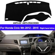 For Honda Civic 9th 2012 2013 2014 2015 Dash Mat Dashboard Cover Right Hand