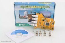 Pci pc carte pour jusqu'à 4 analogique caméras BNC carte vidéo windows 95, 98, 2000...