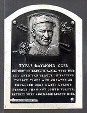 Ty Cobb  DETROIT TIGERS  UNSIGNED 6-1/2 x 8-3/4  LEBEL'S   B&W STUDIO PHOTO #8