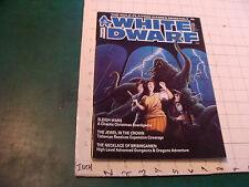 vintage HIGH GRADE Unread Magazine: WHITE DWARF #72, 66pages