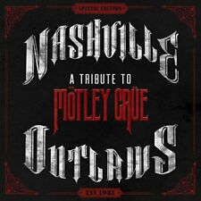 Various – Nashville Outlaws: A Tribute To Mötley Crüe (2014) CD NEW  SPEEDYPOST