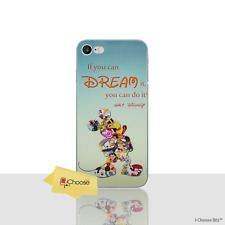 """Cute Disney Dream Quote Gel Case/Cover for Apple iPhone 7 Screen Protector 4.7"""""""
