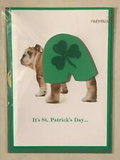 Papyrus St. Patrick's Day Greeting Card New in packaging - Shamrocks Enjoy