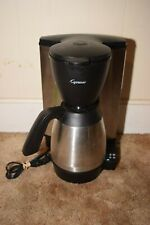 Capresso 445 Mt600 10 Cup Programmable Coffee Maker w Thermal Carafe