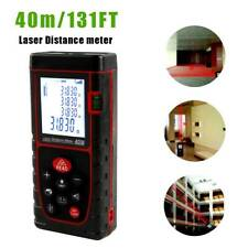 40m/131ft Handheld Digital Laser Point Distance Meter Measure Tape Range Finder