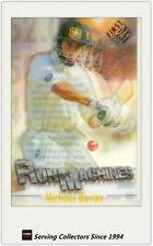 1996/97 Futera Cricket Decider Acetate Card Run Machine RM6: Michael Bevan