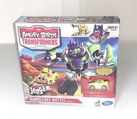 Angry Birds Transformers Jenga Bumblebee Battle 2013 Rare NEW