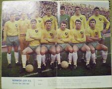 Liga de fútbol revisar Vol 3 No38 2 1968-1969 Norwich Fútbol Equipo Div