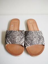 """Dolce Vita"" Size 37.5 - Funky Ladies Zebra Print Flats - Perfect! Bargain Price"