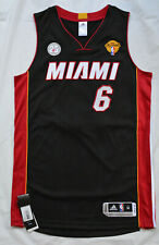 LEBRON JAMES Miami Heat AUTHENTIC PRO CUT New MEDIUM M NBA Jersey FINALS Patch