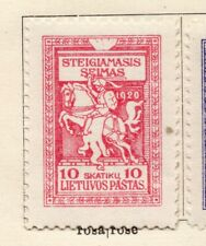 Lithuania 1920 Issue Fine Mint Hinged 10sk. NW-06089