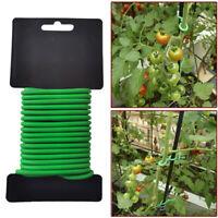 Garden Plant Twist Ties Support Reusable Weatherproof Wire Flexible Tie 8/10m.