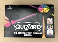 VINTAGE QUIZZARD GAME - GAME THAT GETS EVERYONE BUZZING 1980'S -COMPLETE WORKING