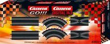 Set Erweiterung 6 Stücke Spur Elektro Carrera Go Digital 143 Extension Set 1