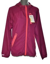 UNDER ARMOUR Storm Water Resistant Jacket Large Running Fitted Windbreaker NEW