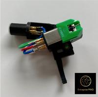 Turntable Headshell & AT-VM95E cartridge for Denon DP 30L, DP 35F, DP 37F, DP 45
