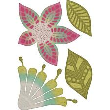 FLOWERS Bohemian Mehndi Botanicals Die Cutting Dies CHEERY LYNN DESIGNS B865 New