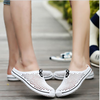 Summer Men's Breathable Slippers Hollow-out Beach Sandals Garden Hole Shoes New