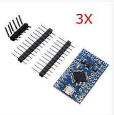 3Pcs 3.3V 8MHz ATmega328P-AU Pro Mini Microcontroller Board For Arduino