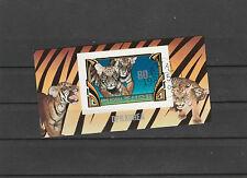 DPRK Bl. 116 gestempelt, Tiger