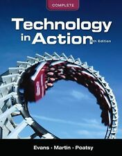 Technology in Action, Alan R. Evans, Mary Anne S. Poatsy 8th Ed With UNUSED CD