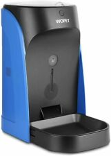 WOPET Automatic Pet Feeder, Dog and Cat Food Dispenser with Portion Control BLUE