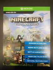 Minecraft Explorers Pack DLC code only Xbox One Xbox Live Download Key