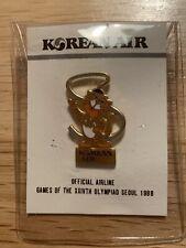 """1988 Korean Air  """"Hidori"""" Mascot - Official Airline Pin"""
