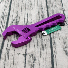 AN3-16AN Aluminum Spanner Adjustable Anodized Wrench Fitting Tools Purple NEW