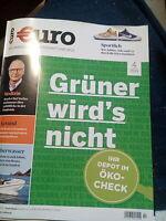 *ungelesen Euro das Magazin Für Wirtschaft & Geld März 4 /2021 *Neu Zeitschrift
