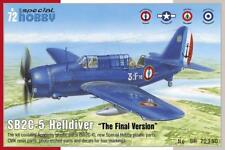 "SB2C-5 HELLDIVER ""Final Version"" (Aeronavale) PLASTIC KIT 1/72 SPECIAL HOBBY"
