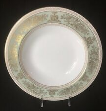 Rim Soup Bowl - Wedgwood Gold Columbia Sage Green - MORE AVAILABLE