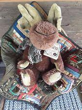 """Boyds Retired Mohair Moose """"Martin V Moosington� Ltd #59030105~New in Box~Sweet!"""
