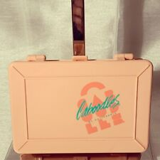 A Very Cute Plastic Vintage Caboodles Peach Small Box Container