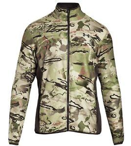 Under Armour Barren Camo Stealth Hunting Jacket-XL and Bib-L Set