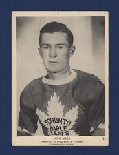 1939-40 O-Pee-Chee V301-1 Nick Metz #51 Toronto Maple Leafs (5 X 7) Card!