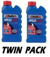 2x Holts Speedflush Radiator Flush and Sludge Cleaner prevents overheating 250ml