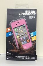 OEM LifeProof Waterproof Case for iPhone 4 & 4S - Pink