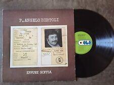 Pier Angelo Bertoli Eppure soffia Italy LP EX 1976