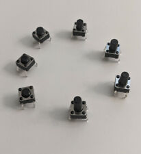 New Listing2 Pcs Momentary Spst Push Button Switch Normally Open Pc Mount Solder Pin Mr Ckt