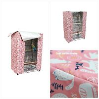Large Bird Cage Cover Good Night Parakeet Cage Cover Washable Parrot Cage Cover
