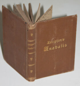 Xenophon's Anabasis. Reclam, um 1880. Leinen.