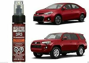 GENUINE TOYOTA BARCELONA RED META TOUCH-UP PAINT PEN CODE 3R3 OEM 00258-003R3-21